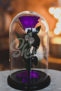 """Роза в колбе """"Premium Purple"""""""