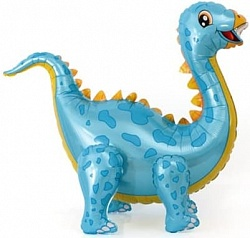 """Ходячая фигура """"Динозавр Стегозавр"""" голубой"""
