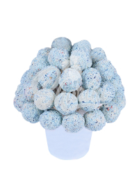 Букет из трюфельных шариков