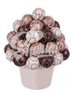 """Букет из трюфельных шариков """"Шоколадная Гармония"""""""
