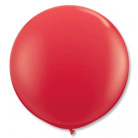 Большой шар, Красный, 90 см
