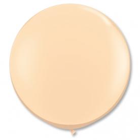 Большой шар, Бежевый, 90 см