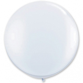 Большой шар, Белый, 90 см