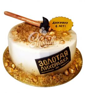 "Торт ""Золотая лихорадка. Цена за 1 кг."