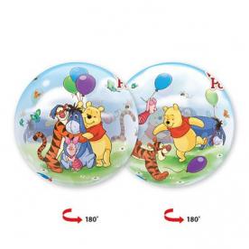 "Шар Bubble 22"" Disney ""Винни и друзья"""