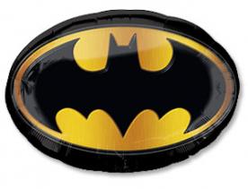 "Шар фольга ""Бэтмен эмблема"""