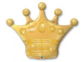 "Шар Фигура ""Корона золотая"""