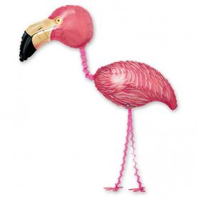 "Ходячая Шар фигура ""Фламинго"""