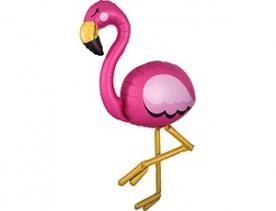 """Ходячая Шар фигура """"Фламинго New"""""""