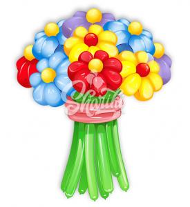 """Цветы из шаров """"Букет №15"""""""
