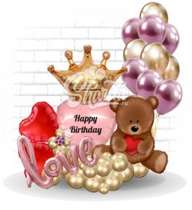 """Композиция """"Happy Birthday,Принцесса"""""""