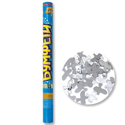 Хлопушка 60см конф бум /фольг Голуби