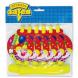 Язык-гудок с карт Клоун с шарами 6шт