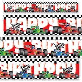 Баннер фольгированный HB Формула 1