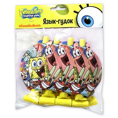 Язык-гудок Губка Боб, 8 штук