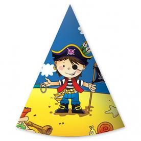 Колпаки Маленький пират, 6 штук