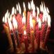 Свечи для торта с подст 8,5см 12шт