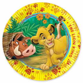 Тарелка Король Лев, 20 см, 10 шт.