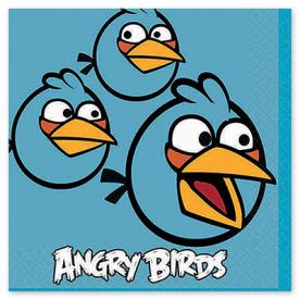 Салфетка Angry Birds, 25 см, 16 штук