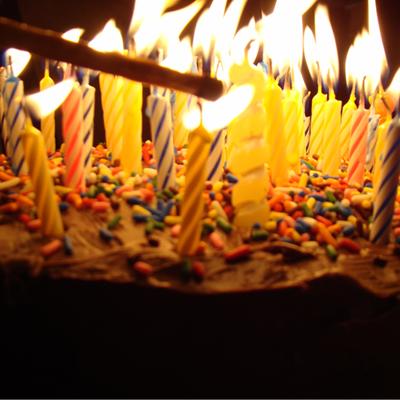 Свечи для торта ассорти, 24 шт