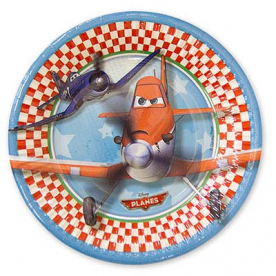 Тарелки малые Самолеты 20 см