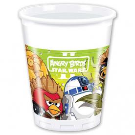 Стаканы Angry Birds STAR WARS, 8 штук