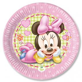 Тарелки малые Малышка Минни, 8 штук