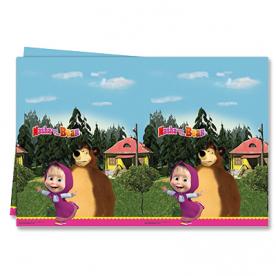 Скатерть Маша и Медведь, 1,2х1,8 м