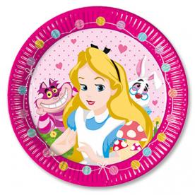 Тарелки Алиса в Стране Чудес, 8 штук