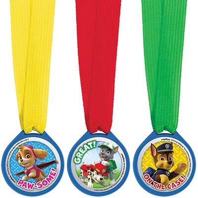 Медали Щенячий Патруль (комплект 12 шт)