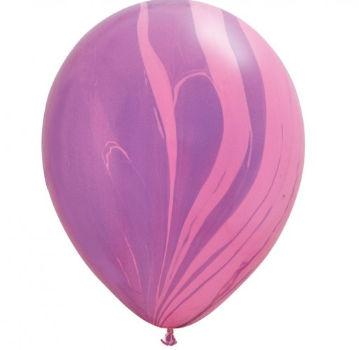 Шар Агат Pink Violet