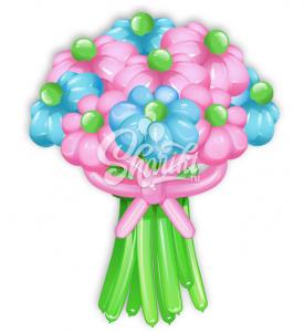 """Цветы из шаров """"Букет №17"""""""