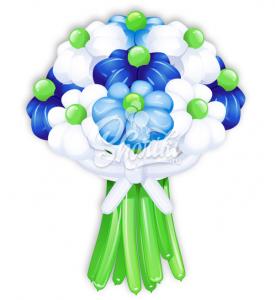 """Цветы из шаров """"Букет №18"""""""