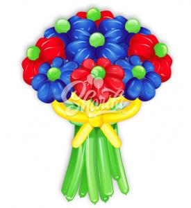 """Цветы из шаров """"Букет №19"""""""