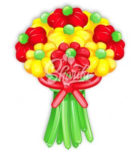 """Цветы из шаров """"Букет №20"""""""