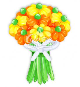 """Цветы из шаров """"Букет №23"""""""
