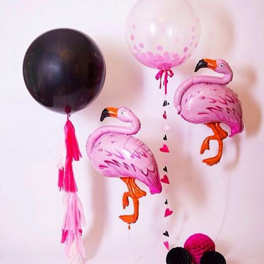 """Шар-фигура """"Фламинго"""""""