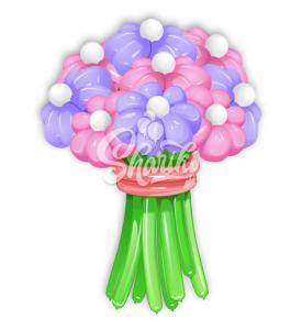 """Цветы из шаров """"Букет №4"""""""