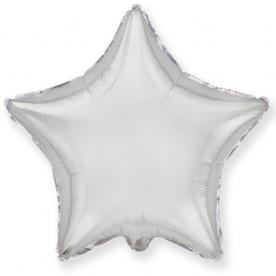 """Шар-звезда """"Серебро"""", 46 см."""