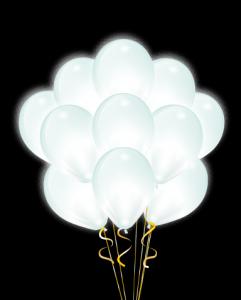 "Облако с круглым диодом ""Белые"""