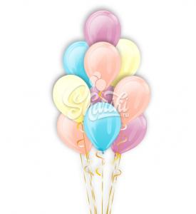 """Фонтан из шаров """"Праздник для всех"""""""