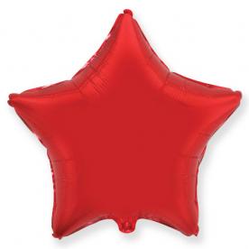 """Шар-звезда """"Красный"""", 46 см."""