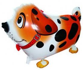 """Ходячая фигура """"Собака далматин, Оранжевый"""""""