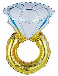 """Фигура шар """"Кольцо с бриллиантом"""""""