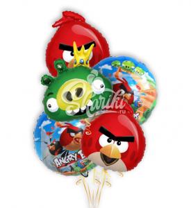 "Композиция ""Angry Birds"""