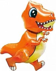 """Ходячая фигура """" Динозаврик оранжевый"""""""