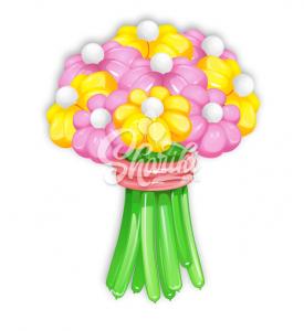 """Цветы из шаров """"Букет №8"""""""