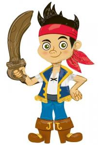 "Ходячая фигура ""Джейк Пират"""