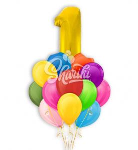 """Букет шаров """"На день рождения"""""""