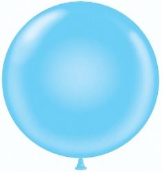 Большой шар на атласной ленте, Голубой